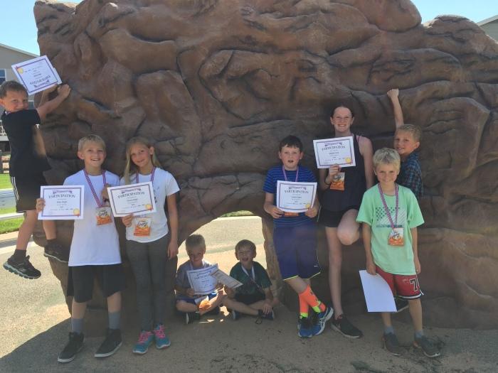 KidFit classes for Marathon fundraiser session 1