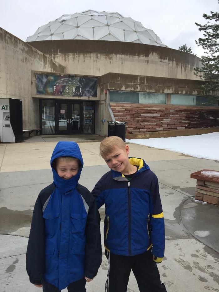 Blake 2nd grade fieldtrip to Fisk Planetarium