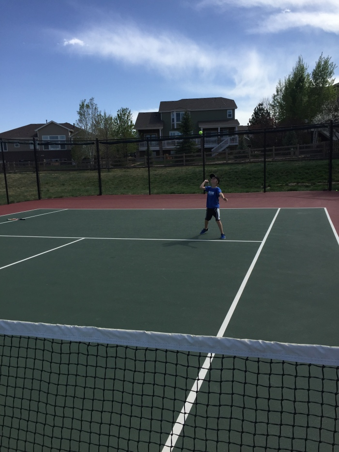Tennis Kid date Josh