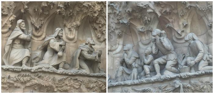 nativity facade