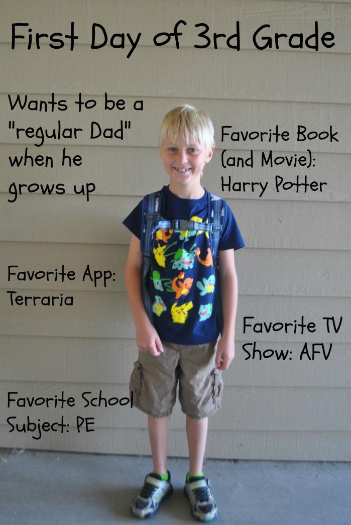 Blake 3rd grade