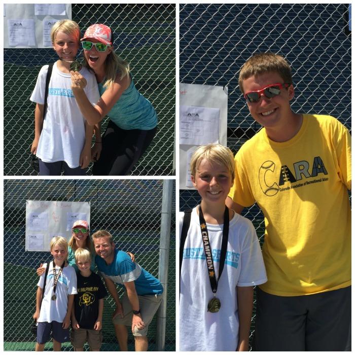 Josh 10U CARA tennis State Champ!
