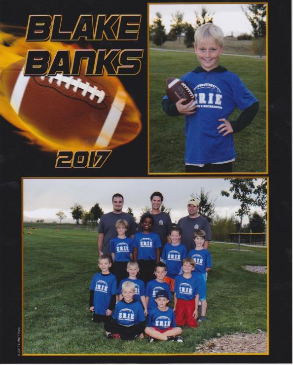 Blake Football 2017