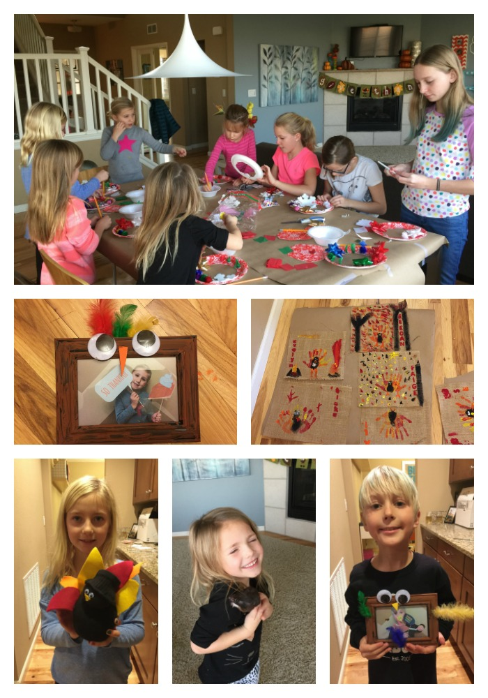 Thanksgiving craft camp