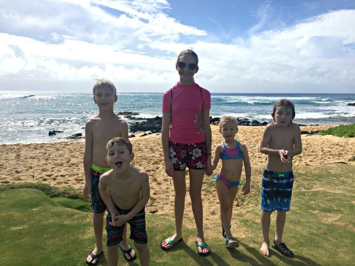 Cousins at Sheraton Beach