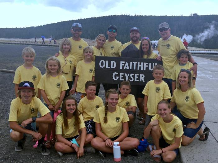Banks Family Yellowstone 2018