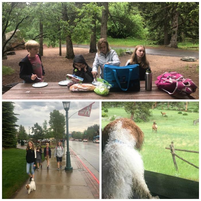 Rainy Sunday in Estes Park